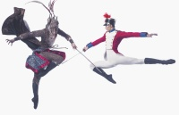 The Nutcracker Promotional Image | Dancers: Li Jiabo, Wei Wei | Photographer: Ricky Lo